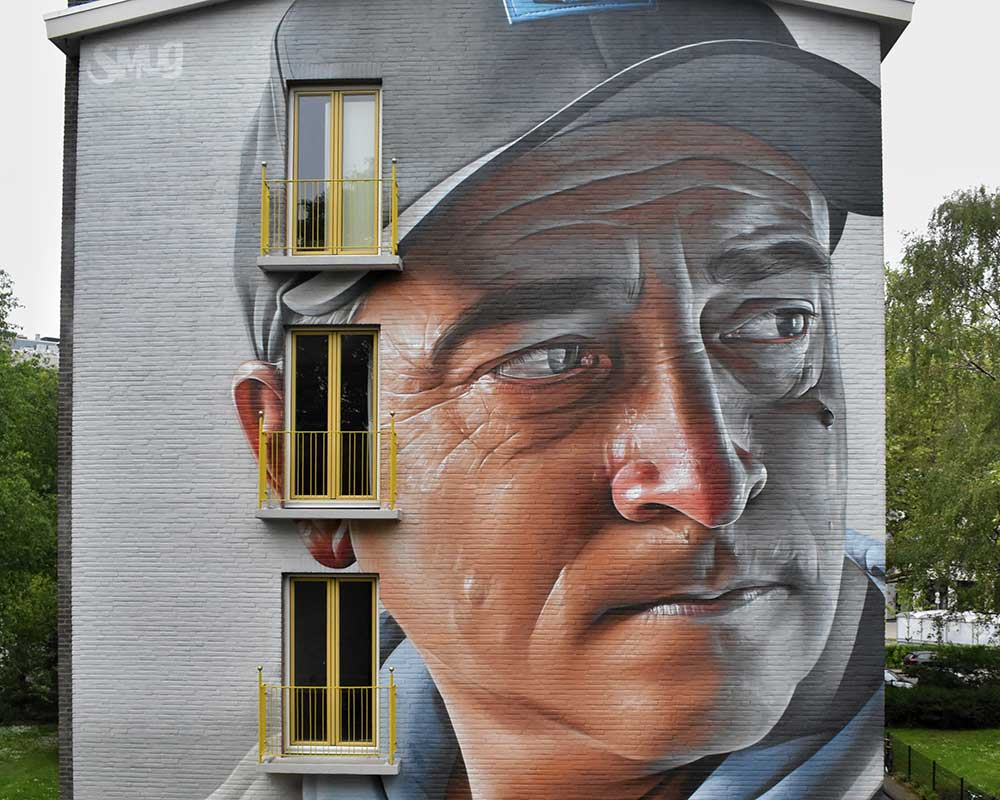 Smug one Berlin Mural Fest