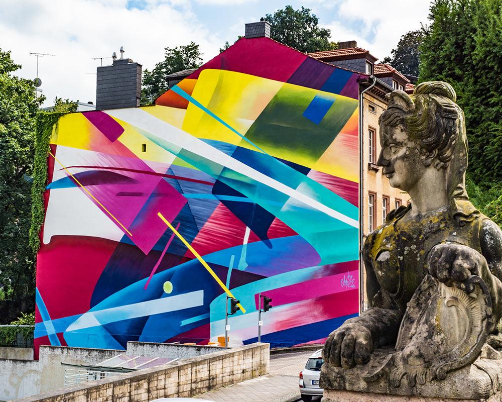 MadC Saarbrücken Berlin Mural Fest