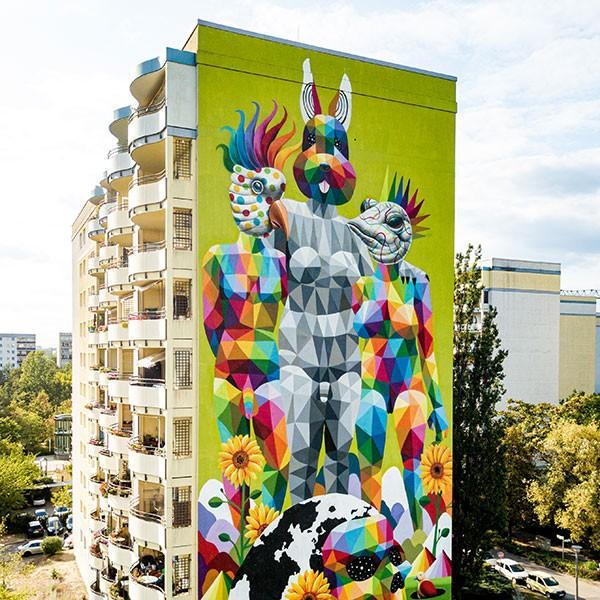 Berlin Mural Fest 2019 Okuda